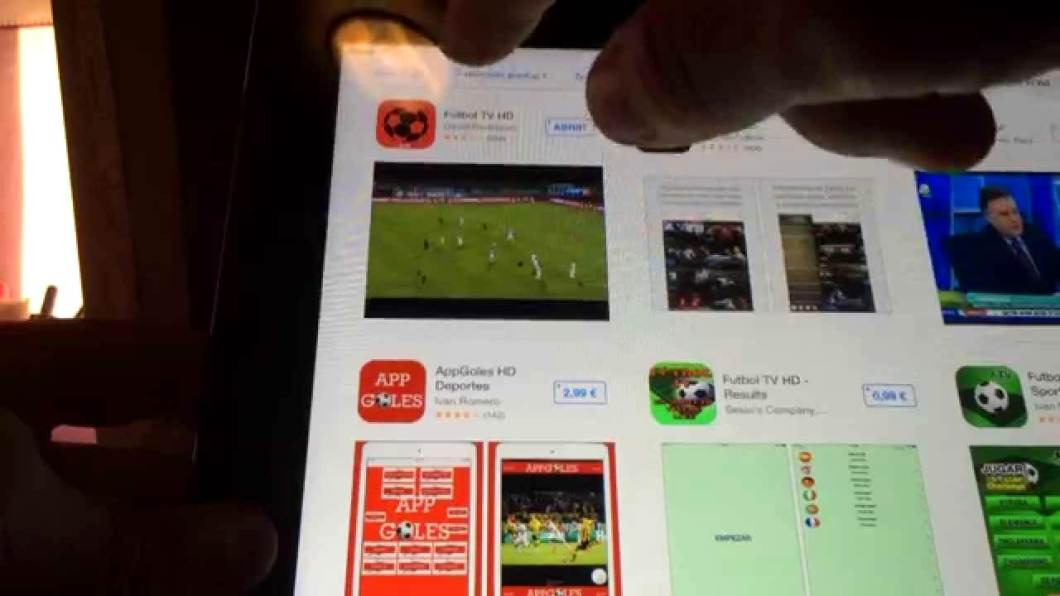 Apps para ver fútbol en tu iPhone