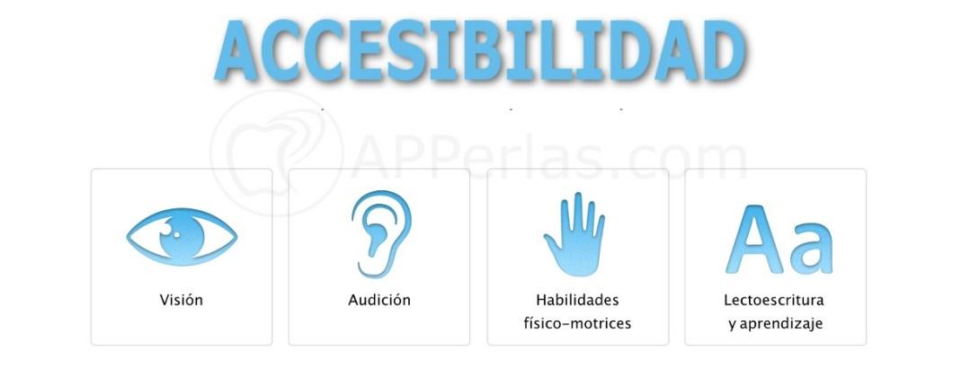 Apps de accesibilidad iOS