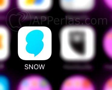 Snow app copia de snapchat