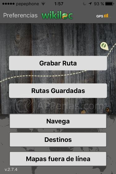 Wikiloc apps para vacaciones