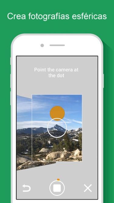 Crear fotos de 360 grados