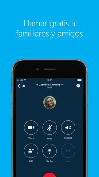 Llamar gratis Skype