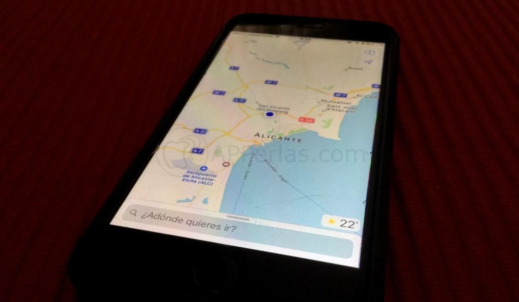 Novedades Mapas de iOS 10