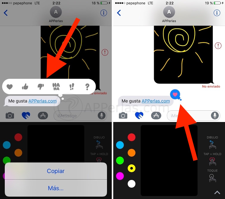 imessage novedades de iOS 10