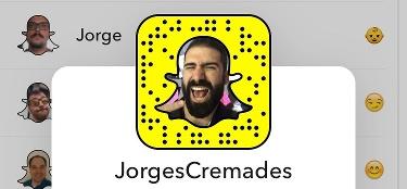jorge cremades snapchat en español