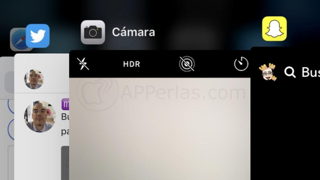 La multitarea de iOS