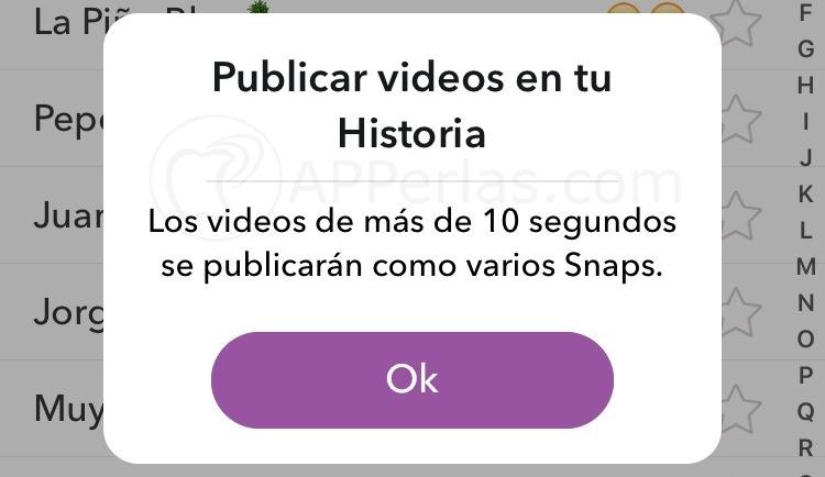 Recuerdos de snapchat 6