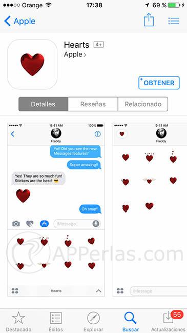 Stickers para mensajes 2