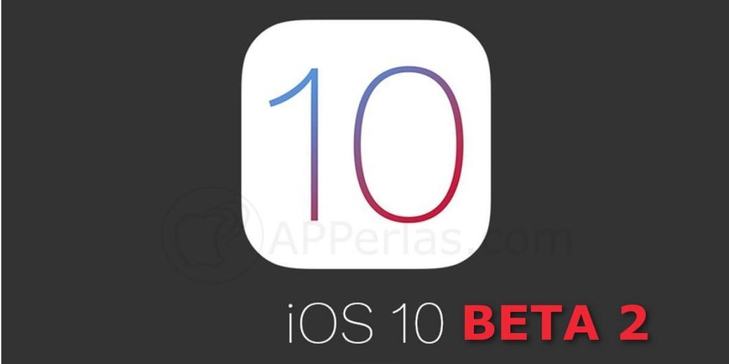 iOS 10 beta 2