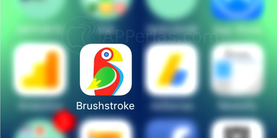 Brushstroke icono app