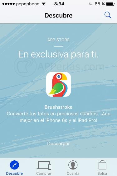 Brushstroke gratis
