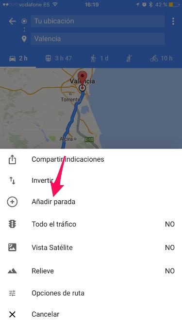 ruta con Google Maps 2