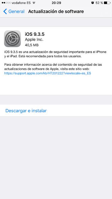 iOS 9.3.5 1