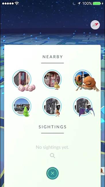 actualización de pokemon go