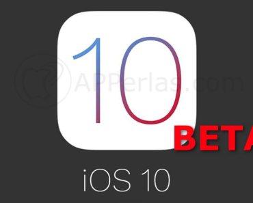 Beta 4 de iOS 10
