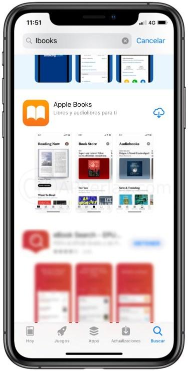 iBooks en la App Store