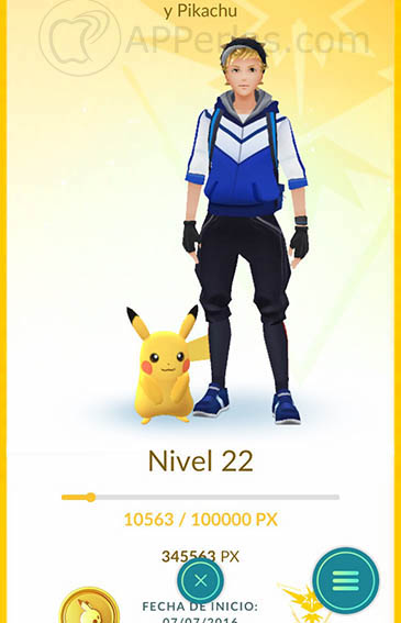 nueva versión de pokemon go 1