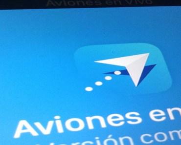 Monitoriza aviones y sus rutas con la app Aviones en Vivo