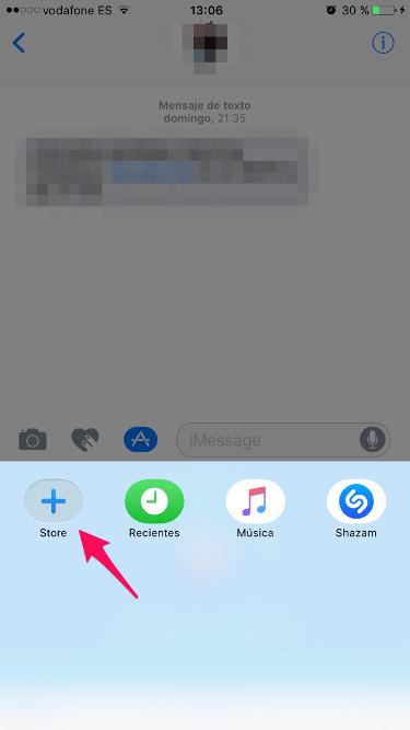 Shazam con iMessage 2