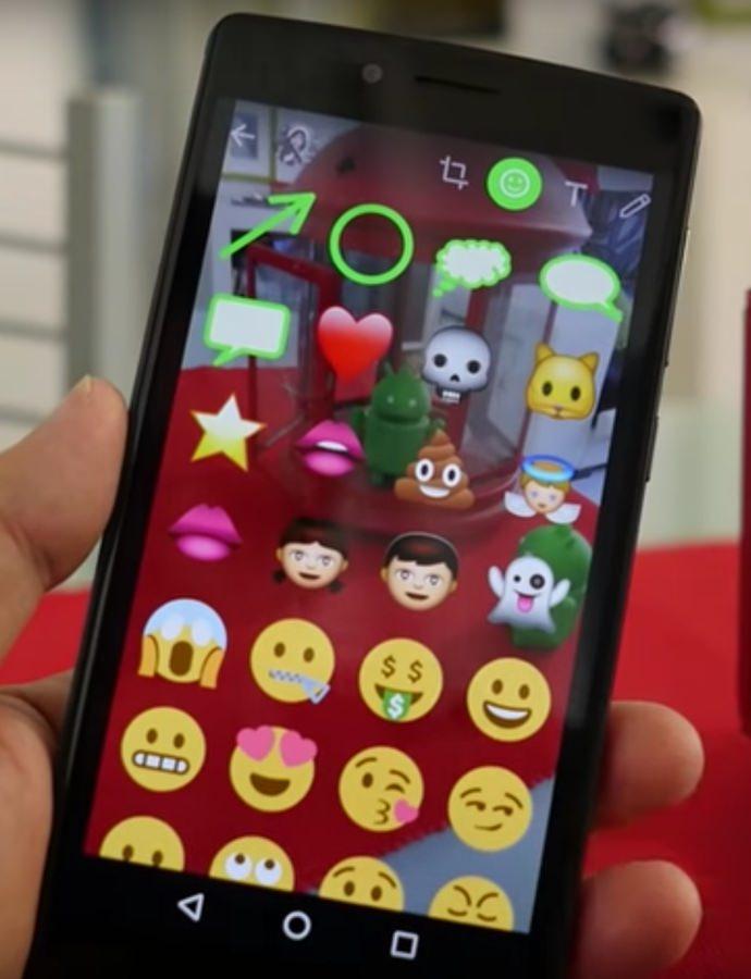 funciones de Snapchat en Whatsapp
