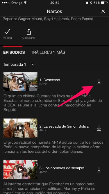 descargar en Netflix 1