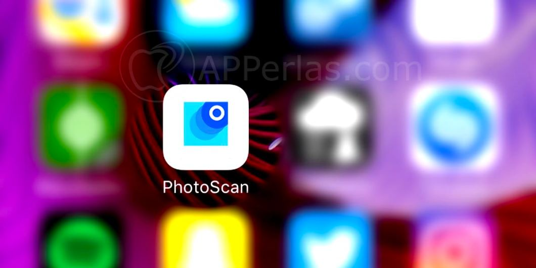 Photoscan app capturar fotos en papel