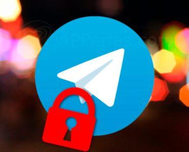 Pon un código de bloqueo en Telegram e impide que accedan a la app sin permiso