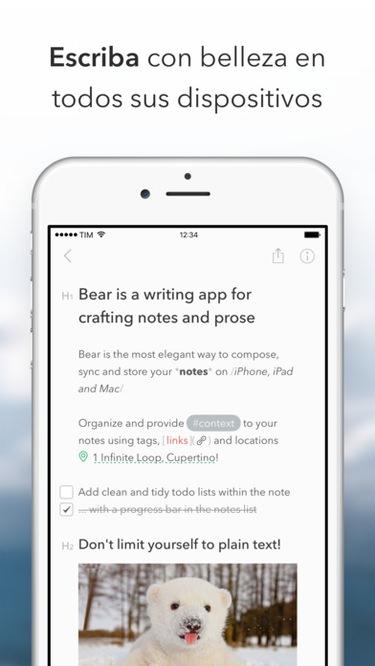 bear-app-escribir