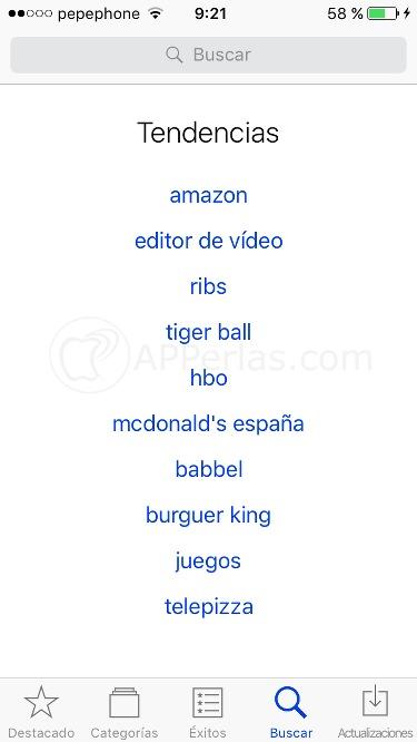 Apps más descargadas y trending