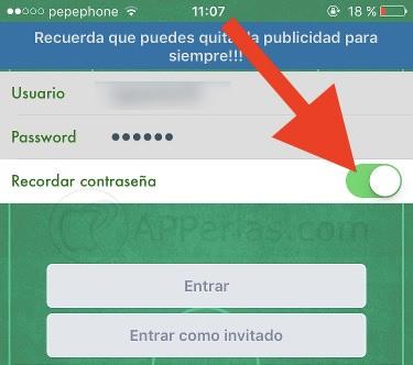Descifrar contraseñas en iPad