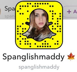Spanglishmaddy cuentas de snapchat