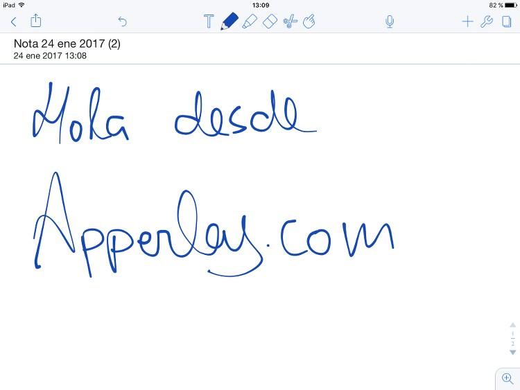 App de notas Notability