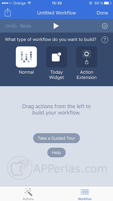 Apple ha comprado workflow 3