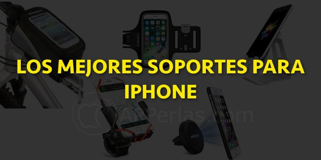 Soportes para iPhone