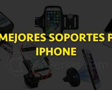 Soportes para iPhone. Lo mejores para tu dispositivo. Buenos, bonitos y baratos