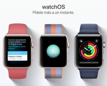WatchOS 3.2, las novedades más destacadas para el Apple Watch