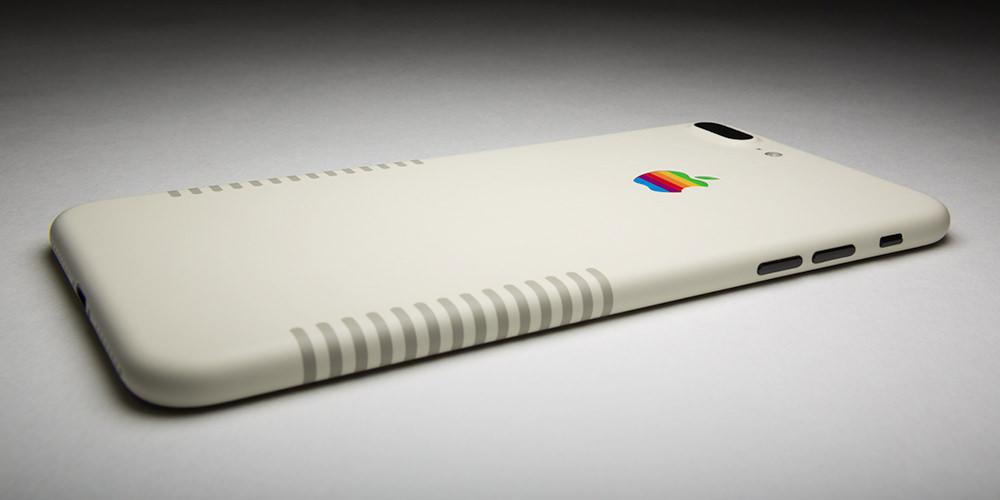 Trasera del iPhone 7 PLUS Retro