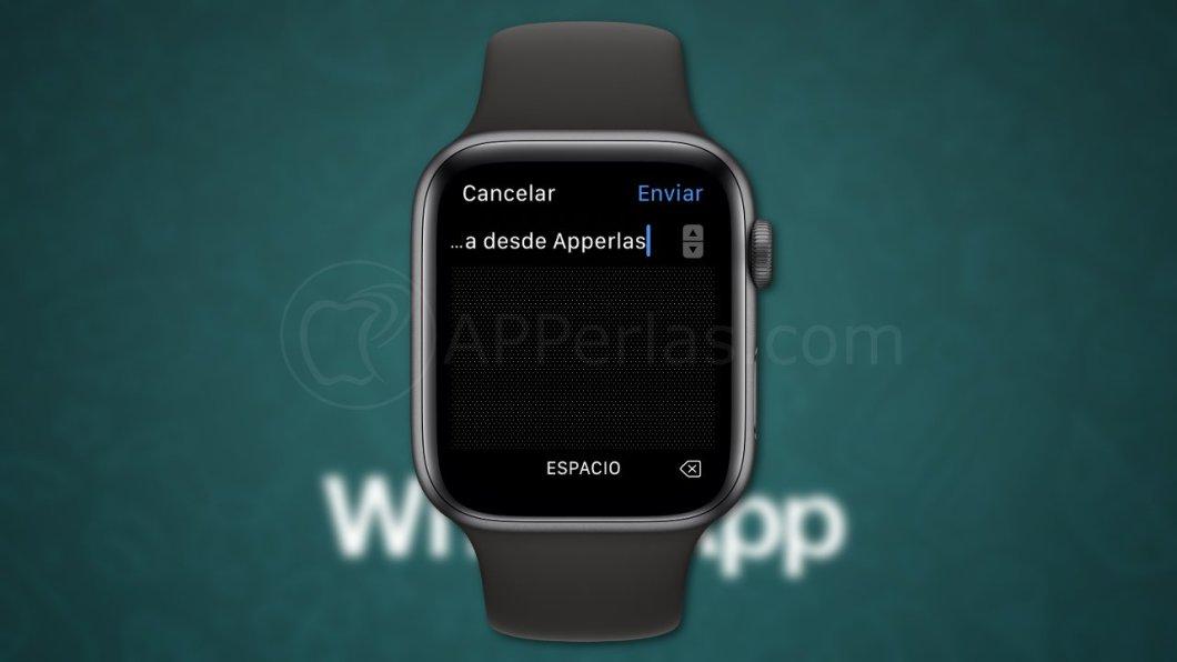 Escribe respuestas en WhatsApp desde el Apple Watch