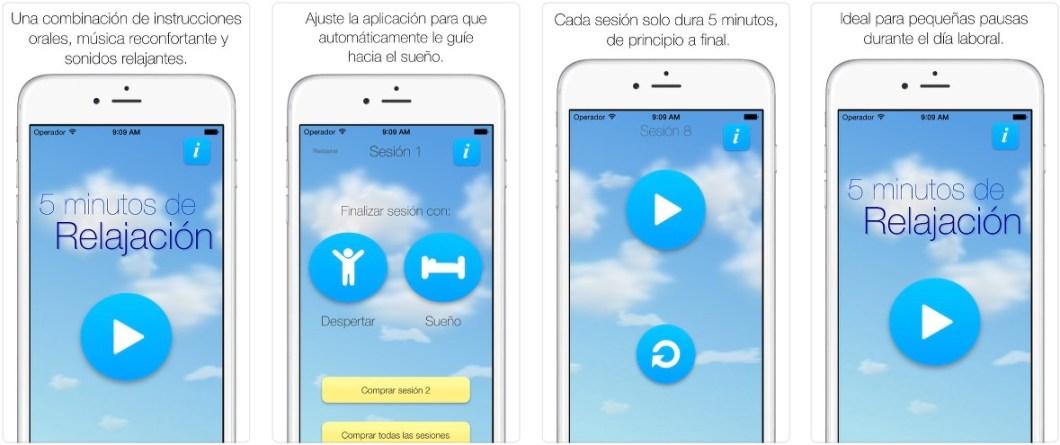 App de relajación