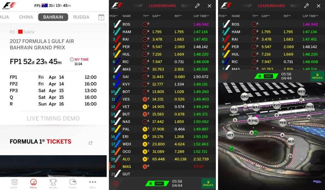 Fórmula 1 online