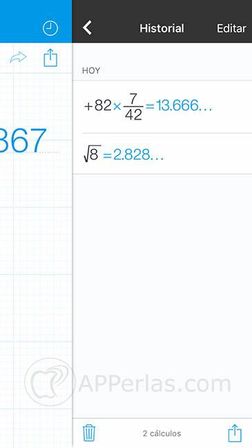 calculadora para iOS 3