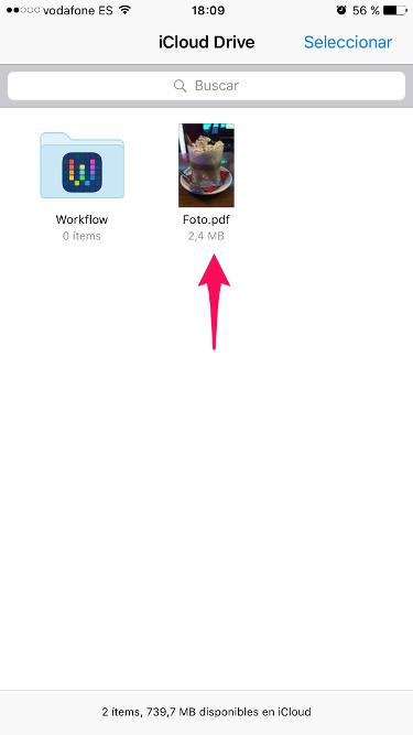 PDF con el iPhone 3