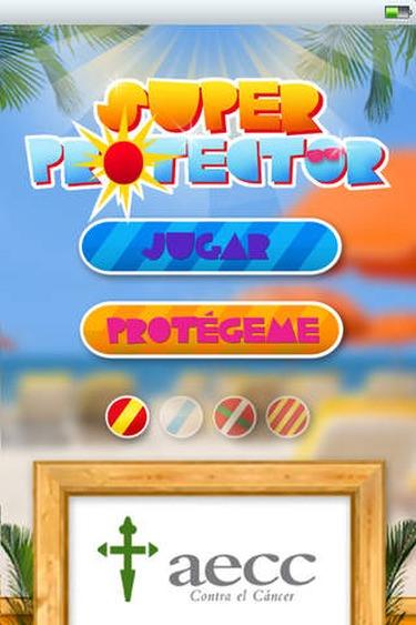 app protección solar Sprotector
