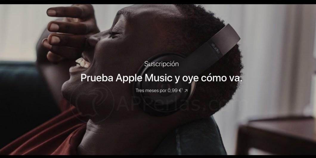 Apple music gratis, ahora a 0,99