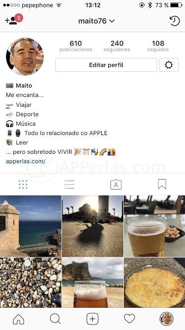 Biografía para instagram llamativa