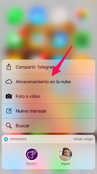 nube de Telegram 1