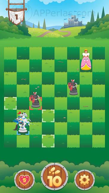 caballo del ajedrez juego iOS 3