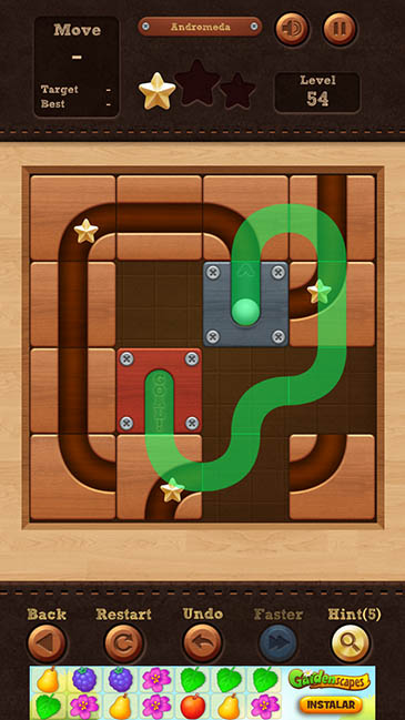 un adictivo juego Roll The Ball 2