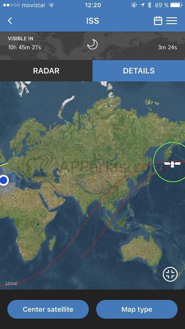 Estación Espacial Internacional online