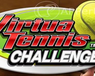 Juega en iPhone al famoso juego Virtua Tennis, de la mano de SEGA